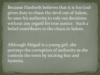 John Proctor's hypocrisy reflects the prevalence of hypocrisy in Salem village.