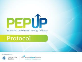 MAIN FEATURES  OF THE PEP  u P  PROTOCOL