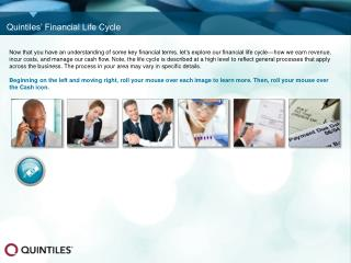 Quintiles' Financial Life Cycle