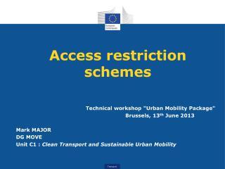 Access restriction schemes