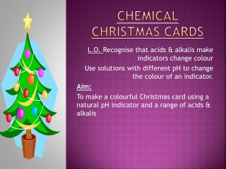 Chemical  christmas  cards