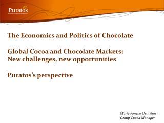 Marie-Amélie Ormières Group Cocoa Manager