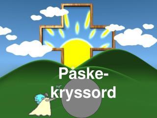 P ske-kryssord