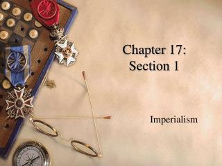 Chapter 17:  Section 1