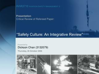 Presentation  Critical Review of Refereed Paper: