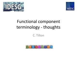 Functional component terminology - thoughts