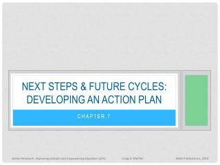 Next steps & future cycles: Developing an action plan