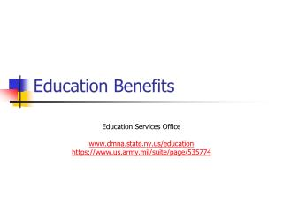 Education Benefits