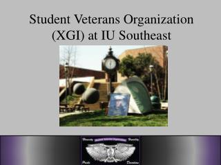 Student Veterans Organization (XGI) at IU Southeast