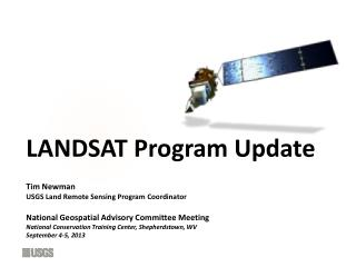 LANDSAT Program Update
