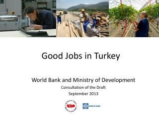 Good Jobs in Turkey