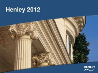 Henley 2012