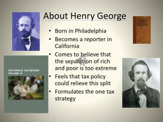 About Henry George