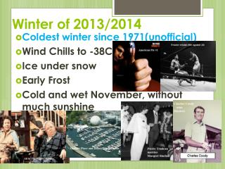 Winter of 2013/2014