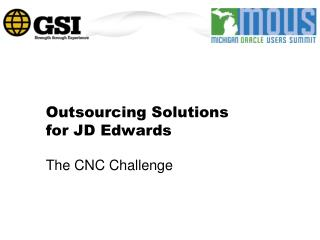 Outsourcing Solutions for JD Edwards
