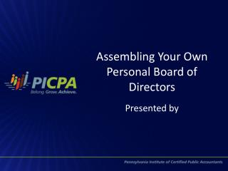 Assembling Your Own Personal Board of Directors