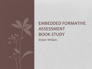 Embedded Formative Assessment  Book Study