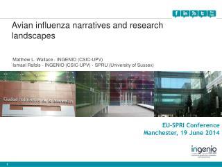 EU-SPRI Conference Manchester,  19 June 2014