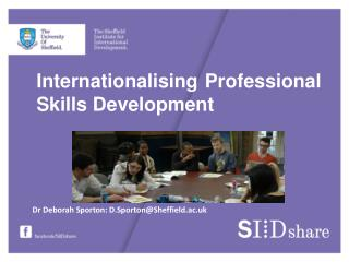 Internationalising Professional Skills Development