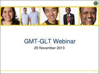 GMT-GLT Webinar