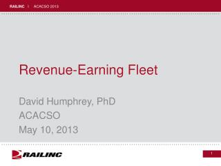 Revenue-Earning Fleet