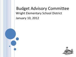 Budget Advisory Committee