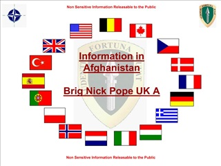 Information in Afghanistan  Brig Nick Pope UK A