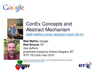 ConEx Concepts and Abstract Mechanism draft-mathis-conex-abstract-mech-00.txt