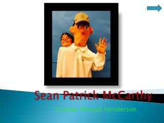 Sean Patrick McCarthy