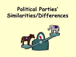 Political Parties'  Similarities/Differences