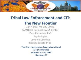 Dan Abreu, MS CRC LMHC SAMHSA's National GAINS Center Mary Katherine, PhD Psychologist