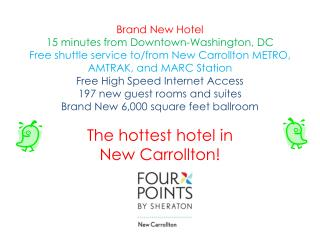 Brand New Hotel 15 minutes from Downtown-Washington, DC