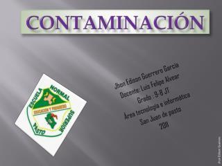 Contaminaci�n