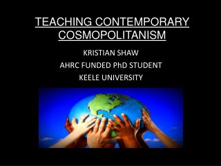 TEACHING CONTEMPORARY COSMOPOLITANISM