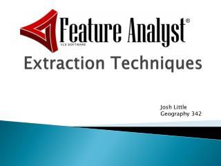 Extraction Techniques