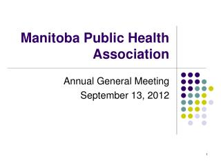 Manitoba Public Health Association