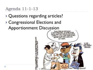 Agenda 11-1-13