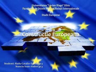 """Universitatea  """"Lucian  Blaga """" Sibiu"""