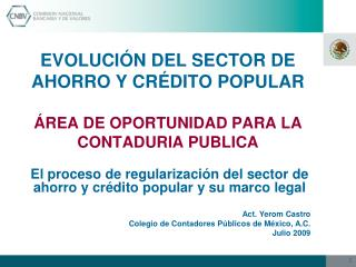 EVOLUCI N DEL SECTOR DE AHORRO Y CR DITO POPULAR                                                                     REA