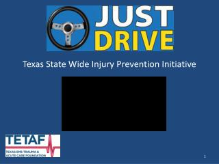 Texas State Wide Injury Prevention Initiative