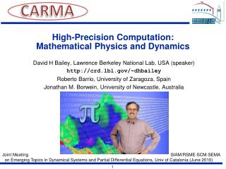 High-Precision Computation:  Mathematical Physics and Dynamics
