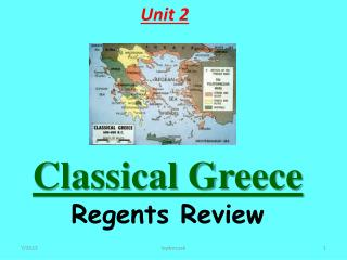 Classical Greece  Regents Review
