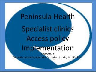 Peninsula Health: