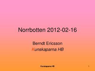 Norrbotten 2012-02-16