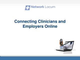 Connecting Clinicians and Employers Online