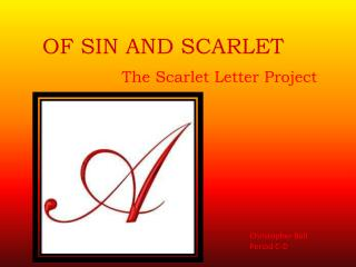 OF SIN AND SCARLET