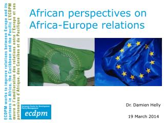 African perspectives on Africa-Europe relations
