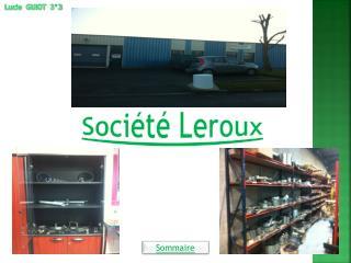 Société Leroux