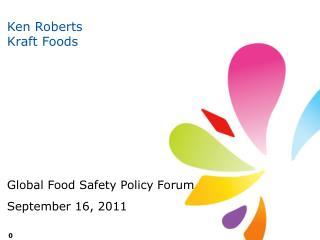 Ken Roberts Kraft Foods
