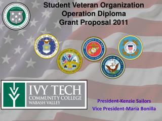 Student Veteran Organization Operation Diploma Grant Proposal 2011